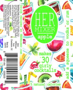 HERmixer Cocktail Mixers - Apple Label