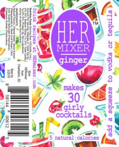 HERmixer Cocktail Mixers - Ginger Label