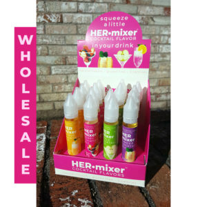 HERmixer - makes 30 girly low-calorie cocktails - Berry, Citrus, Ginger, Vanilla, Apple