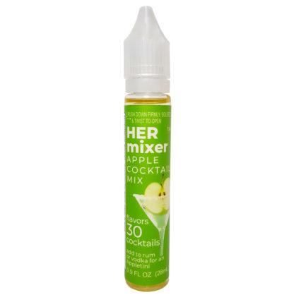 HERmixer Mini Cocktail Mixers - makes 30 low-calorie cocktails - Apple