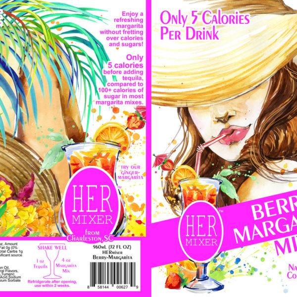 HERmixer Low Calorie & Natural Berry Margarita Mix