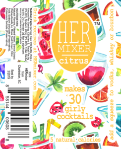 HERmixer Cocktail Mixers - Citrus Label