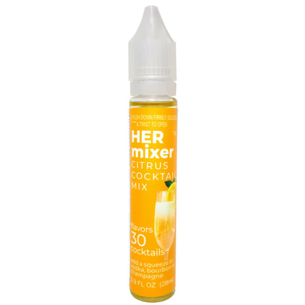 HERmixer Mini Cocktail Mixers - makes 30 low-calorie cocktails - Citrus
