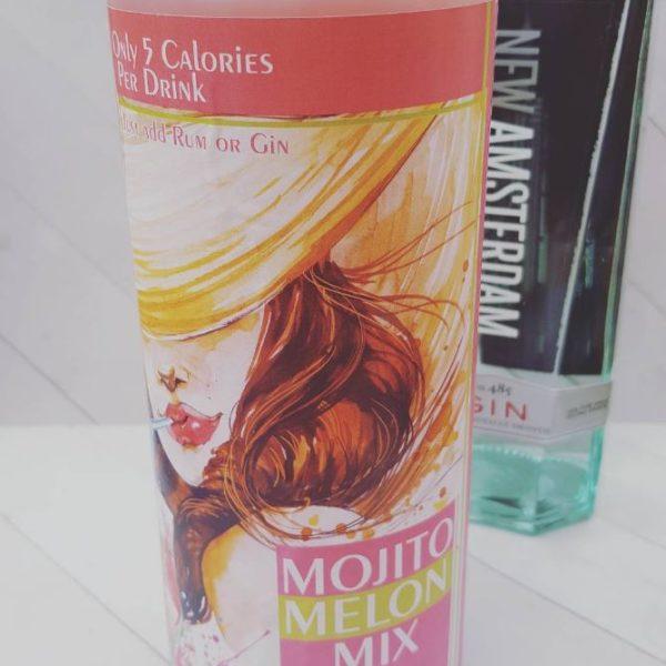 HERmixer Low Calorie & Natural Mojito Melon Mix
